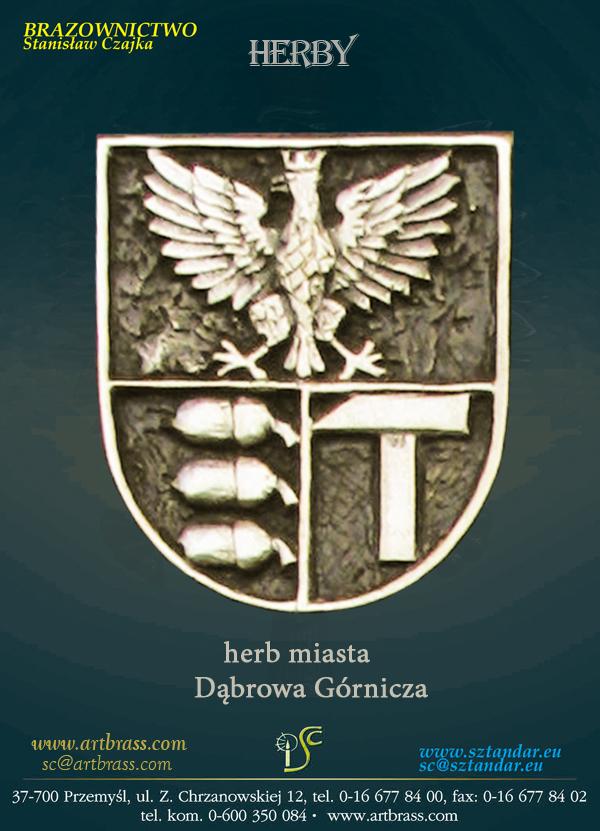 Herb miasta Dąbrowa Górnicza