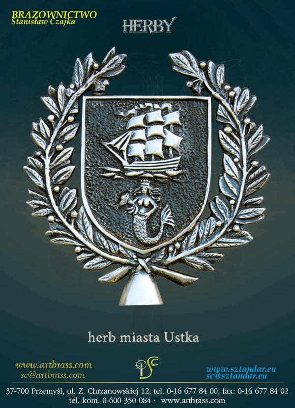 Herb miasta Ustka