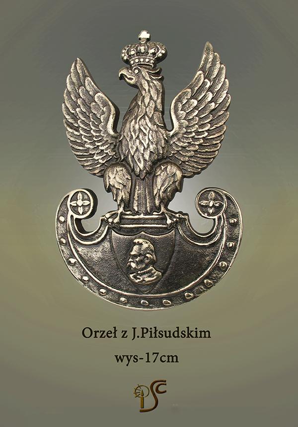 Orzeł z J.Piłsudskim