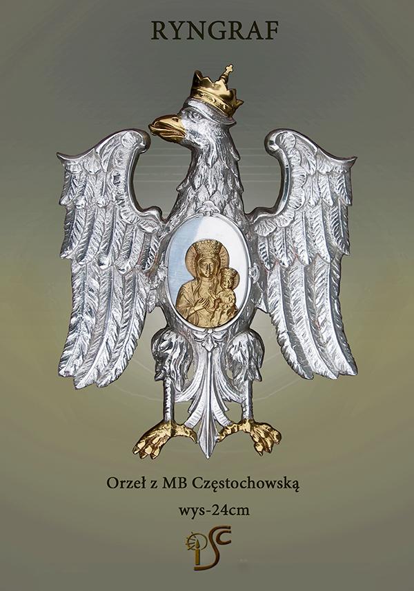 Orzeł z MB Częstochowską