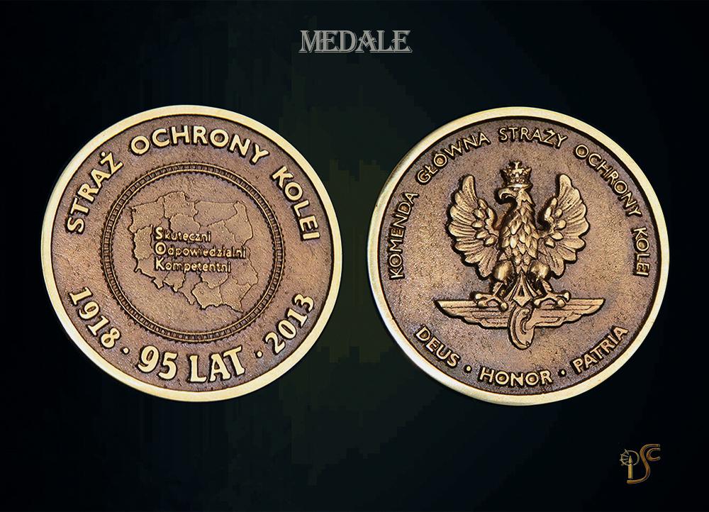 Medal 95-lecia Straży Ochrony Kolei