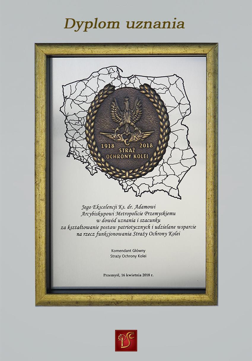 Dyplom uznania SOK