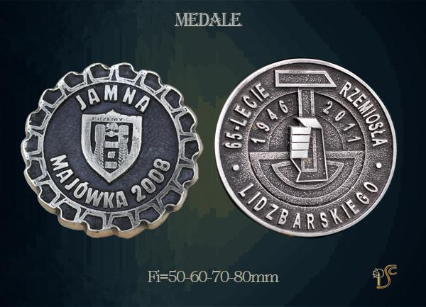 Medal 65 lecia Rzemiosła Lidzbarskiego JAMNA