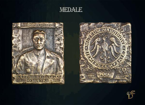 Medal Kazimierz Marian Osiński - założyciel muzeum
