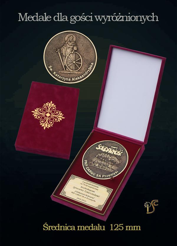 Medal specjalny w etui
