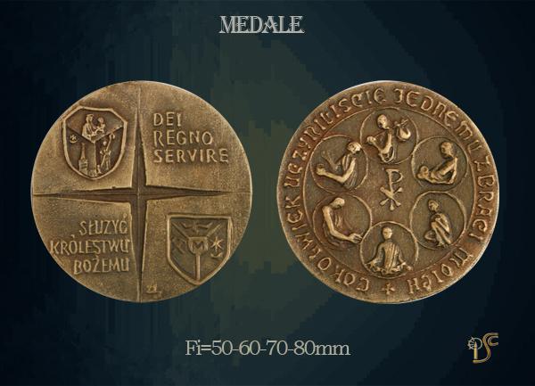 Medal Dei Regno Servire