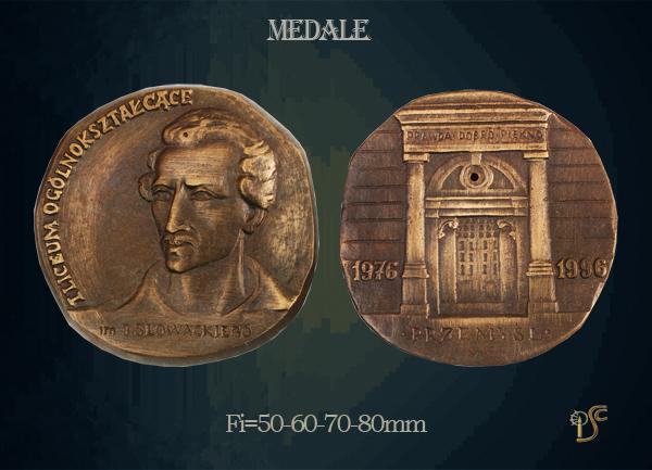 Medal I Liceum Ogólnokształcącego w Przemyślu 1996