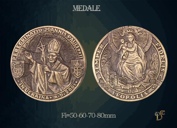 Medal Jana Pawła II A.D. 2001