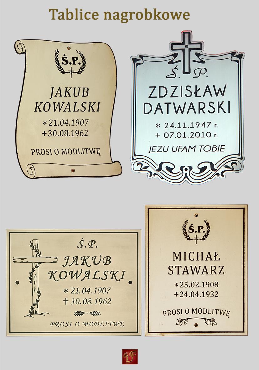 Tablice nagrobkowe